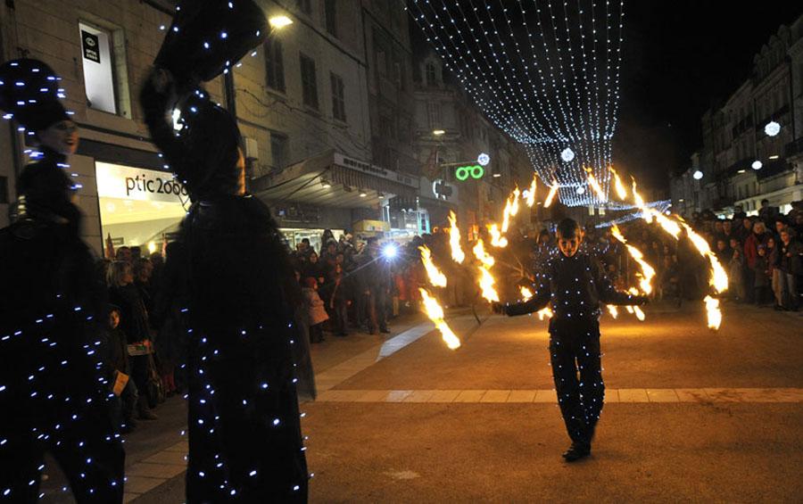 Parade Promenade Pyrotechnique